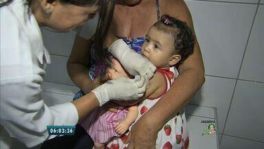 Ceará erradica surto de sarampo - A Secretaria de Saúde confirmou que a chance de novos casos da doença no estado são mínimas.
