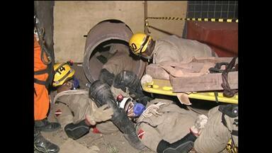 Bombeiros de Santarém se especializam em busca e resgate em estruturas colapsadas - Curso está sendo realizado pela primeira vez em Santarém.