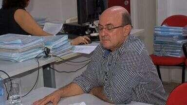 Ex-deputado José Riva presta depoimento sobre desvio de verbas na Assembleia Legislativa - Ex-deputado José Riva presta depoimento sobre desvio de verbas na Assembleia Legislativa, que teria ocorrido há 13 anos