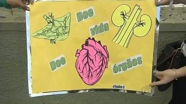Campanhas de incentivo à doação de órgãos ajudam a salvar vidas no Centro-Oeste Paulista - Muita gente já descobriu que ser um doador de órgãos é um gesto concreto de amor ao próximo, mas ainda há muito a se conquistar nessa luta. É por isso que campanhas de esclarecimento e incentivo são fundamentais. Em Marília e em Botucatu, elas vêm colaborando com finais felizes.