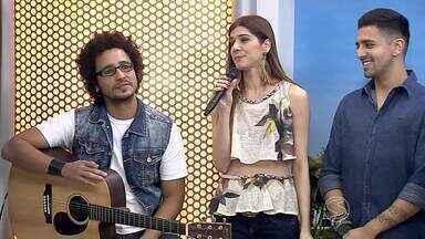 De Volta Redonda, RJ, banda Madame Zero faz show no Rock in Rio - Banda canta ao vivo no quadro 'Diversão e Arte'.