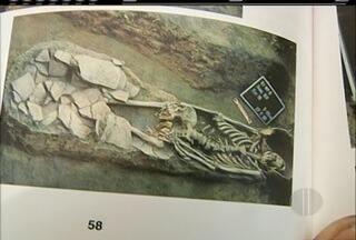 Primavera dos Museus resgata memória dos índios de Campos dos Goytacazes, RJ - Restos de urnas funerárias e ossos fazem parte da mostra.