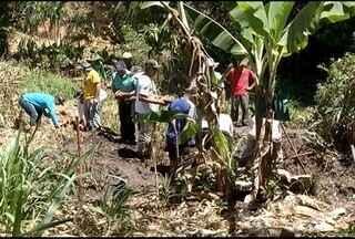 Moradores de comunidades rurais de Januária aprendem a recuperar nascentes - Iniciativa é da Confederação Nacional da Agricultura e Pecuária do Brasil.