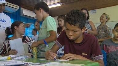 Sesi promove ação social em Presidente Figueiredo - Comunidade recebeu atendimentos no município