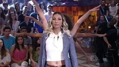 Valesca Popozuda se apresenta no 'Altas Horas' - Cantora interpreta a nova música 'Sou dessas'