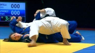 Maria Portela vence Miriam Butkereit por ippon no Desafio Internacional de Judô - Brasileira se impõe durante luta e bate alemã com golpe perfeito