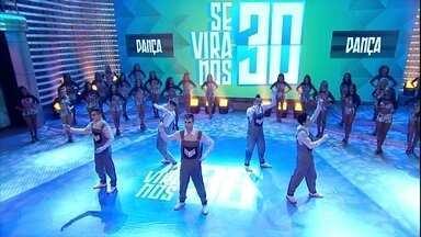 Magic Five diverte a plateia - Grupo formado por Caio, Douglas, Edgar, Leandro e Luiz Paulo arrasaram na coreografia