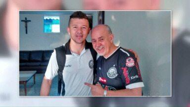 Operário já está na Paraíba - O time chegou ontem à tarde e um telespectador registrou.
