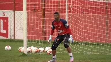 Vila Nova trabalha para não sofrer gols contra a Portuguesa - Tigrão faz primeiro jogo das quartas de final no Serra Dourada e sabe da importância de não sofrer gols em casa.