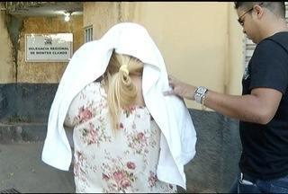 Suspeita de fazer abortos presa por aborto pela terceira vez em Montes Claros - Ela dizia para clientes jogarem fetos no lixo e esgoto.