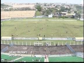 Grêmio Prudente perde em casa para o São Carlos - Próximo jogo da equipe será no sábado (10).