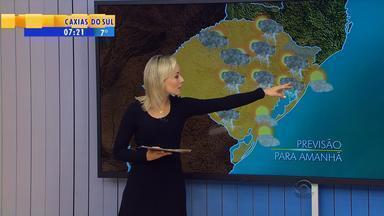 Tempo: chuva volta a aparecer nesta terça-feira (6) no RS - Sol se mantém apenas no litoral do estado.