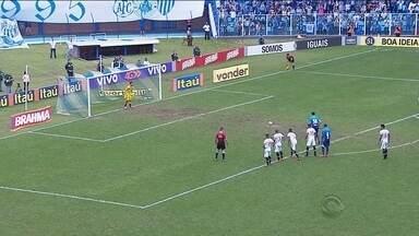 Roberto e Miguel comentam os destaques do futebol catarinense desta segunda-feira (5) - Roberto e Miguel comentam os destaques do futebol catarinense desta segunda-feira (5)
