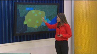 Confira a previsão do tempo para esta semana - Segundo o instituto, em Curitiba e no litoral o céu deve continuar cinza e com nuvens. Já nas outras regiões do Paraná, o sol deve aparecer ao longo do dia.