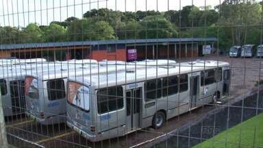 Greve do transporte público de Pato Branco continua - O Tribunal Regional do Trabalho definiu que 40% da frota deve circular no horário de pico.