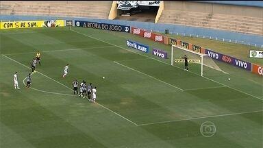 Santos vence o Fluminense e Figueirense bate o Goiás pelo Brasileiro - Cruzeiro e Grêmio ficaram no 0 a 0.