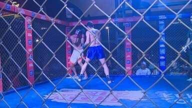Dileno Lopes e Erick Silva são técnicos de torneio de MMA Amador em Manaus - Competição reuniu mais de 100 lutadores, durante o fim de semana, em um shopping da Zona Norte de Manaus