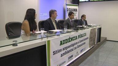 Audiência Pública debate lei sobre licenciamento ambiental do Amazonas - Encontro foi realizado pela Assembleia Legislativa do AM e pelo Ministério Público Federal.
