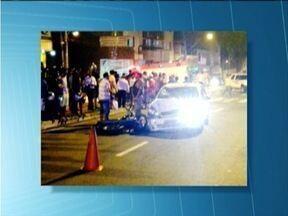 Policial militar provoca acidente de trânsito em Ipatinga - Ele teria invadido a contra-mão e atingido duas pessoas.