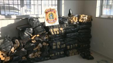 Polícia apreende 900kg de maconha em Campina Grande - A apreensão foi realiza por policiais militares e federais.