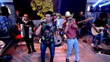 Bruno e Barretto abrem Encontro com música - Dupla foi a grande revelação da festa do Peão de Barretos