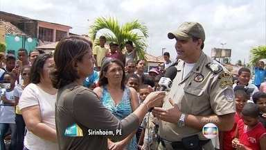 Aumento da violência assusta moradores de Sirinhaém, na Mata Sul de Pernambuco - População reclama de arrastões, invasões e assaltos constantes.
