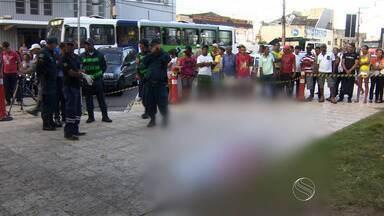 Jovem é assassinado em Praça do Centro de Aracaju - Jovem é assassinado em Praça do Centro de Aracaju.