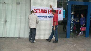 261 agências aderiram a greve dos bancários no ES - Eles pedem ajuste salarial de 16% e melhores condições de trabalho.