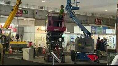 Feira traz inovações na área de segurança do trabalho no ES - O evento acontece em Carapina, na Serra.