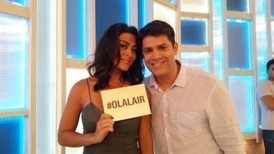 """Juliana Paes revela que não terá mais filhos: """"Três é demais"""" - Atriz responde as perguntas dos internautas através do Olá Lair"""