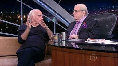 Jô Soares conversa com o velho amigo Ignácio de Loyola Brandão - Escritor lança seu livro 'Os olhos cegos dos cavalos loucos'