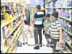 Procon orienta escolha e compras para o Dia das Crianças - Órgão deve atender a população no Centro de Pres. Prudente.