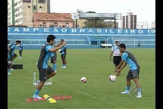 Após dois dias de folga, Paysandu volta aos treinos - Time começa os trabalhos para enfrentar o Macaé, sábado, dia 17.