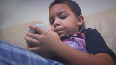 Série de reportagens mostra os dois lados do acesso à tecnologia para as crianças - Reportagens começam nesta segunda-feira (12), no Jornal da EPTV.
