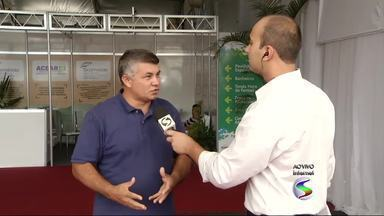 Costa Verde Negócios reúne empresários em Angra dos Reis, RJ - Estrutura do evento, que vai até domingo (11), está montada na Praia do Anil.