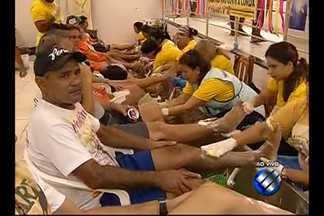 Movimento de romeiros se intensifica na Casa de Plácido, em Belém - Depois da maratona de fé, romeiros que vêm de todos os cantos do Pará são acolhidos com carinho e muitos cuidados na Casa de Plácido.