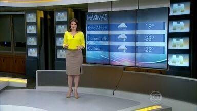 Previsão é de 31ª em São Paulo e 33ª no Rio de Janeiro - Em Salvador pode ter uma chuvinha e 30 graus. A mesma coisa acontece em Belém e em Cuiabá.