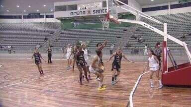 Meninas do basquete de Santos conquista mais uma vitória - Equipe santista venceu o time de Piracicaba pelo Paulista da Série A-2.