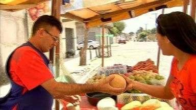 NE Rural visita a feira de Potira, em Caucaia - NE Rural faz visitas a feiras do Ceará.