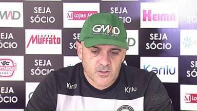 Técnico do Operário quer dedicação total dos jogadores - Operário respeita adversário, mas que garantir a vitória em casa na Série D