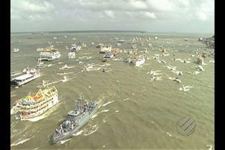 Cerca de 50 mil pessoas devem participar da Romaria Fluvial - Para quem vai participar, o dia foi de preparar as embarcações para o círio das águas.