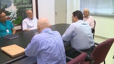 Ministro de Minas e Energia visitou hoje a sede da Rede Amazônica, em Manaus - Eduardo Braga falou sobre investimentos no setor.
