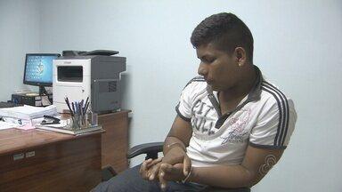 PC prende homem acusado de matar jovem na frente ao pai no Dia dos Pais em Macapá - A polícia civil prendeu um homem acusado de matar um rapaz na frente do pai dele no dia dos pais deste ano. O crime ocorreu durante um assalto.