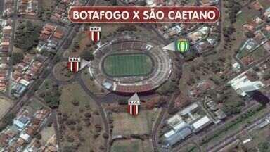 Botafogo-SP espera mais de 20 mil torcedores para jogo contra o São Caetano. - Jogo é o primeiro das quartas de final do Campeonato Brasileiro Série D.