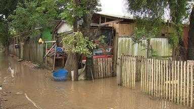 Em Porto Alegre, Região das Ilhas é uma das mais afetadas pela chuva - Algumas casas já foram invadidas pela água.