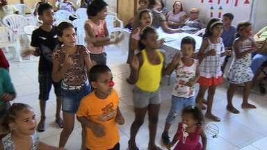 Crianças ganham festa - Crianças ganham festa