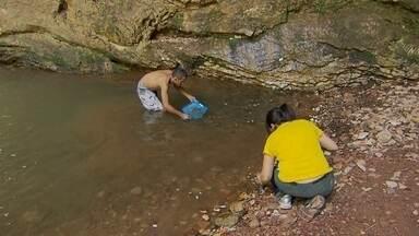 Cachoeira da Loka recebe faxina - Um grupo de voluntários foi até à Cachoeira da Loka, no Gama, para fazer uma grande limpeza. O local estava com bastante lixo deixado pelos frequentadores do local.