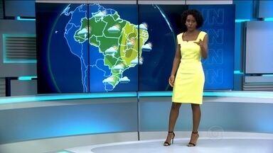 Sul do Brasil deve ser atingido por mais chuva nos próximos dias - As chuvas fortes devem continuar até sexta-feira (16). No domingo, a chuva deve atingir o centro-leste do Rio Grande do Sul, em parte de Santa Catarina e no centro-sul do Paraná.