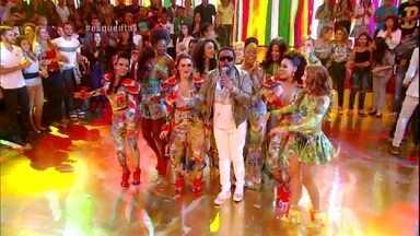 Xande de Pilares canta 'O Amor Mandou Dizer' - Galera dança e canta junto no Esquenta!