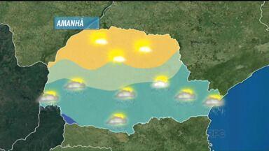 Temperaturas subiram em todo o estado nesta quinta-feira (15) - O dia deve continuar abafado, mas amanhã deve chover em todo o Paraná.